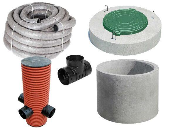 материалы для дренажной системы